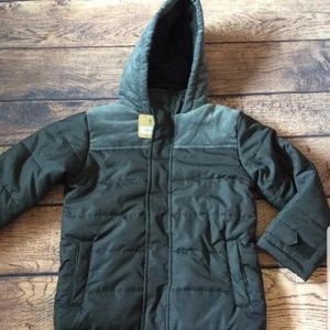 Boys crazy 8 winter jacket coat size 5 6